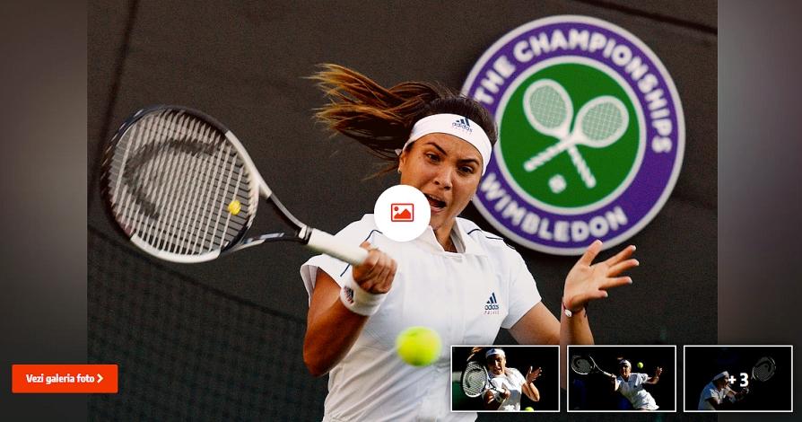 Cine este Gabriela Ruse, jucătoarea care a chinuit-o pe Agnieszka Radwanska. A vrut să renunțe la tenis, la doar 20 de ani