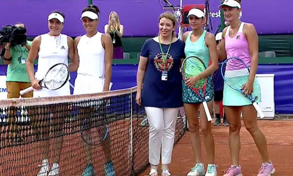 Irina Begu și Andreea Mitu au câștigat semifinala sută la sută românească de la BRD Bucharest Open